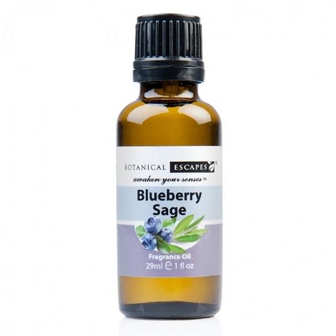Botanical Escapes Herbal Spa Pedicure – Fruity-Tea Collection – Blueberry Sage Fragrance Oil 1 oz