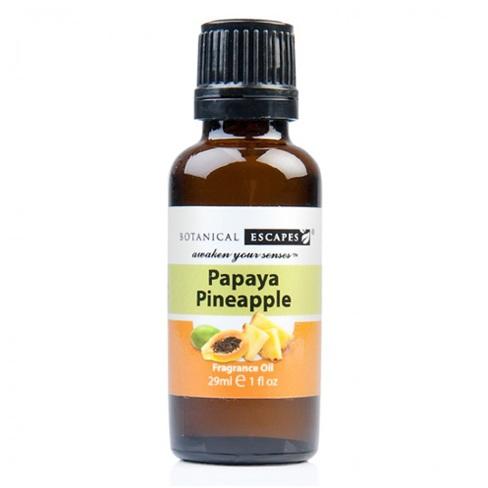 Botanical Escapes Herbal Spa Pedicure – Fruity-Tea Collection – Papaya Pineapple Fragrance Oil 1 oz
