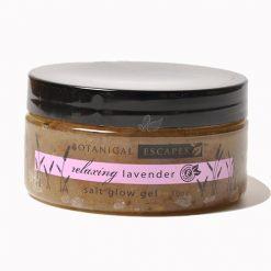 Botanical Escapes Lavender Salt Glow Gel – 10oz