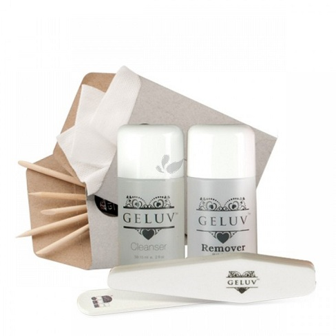 Geluv GO3 Kit – BLACK AND WHITE – Polish Gift Set