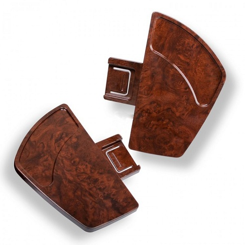 Human Touch – HT-245PS, Manicure Tray, Right (Faux Wood)