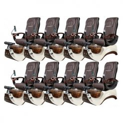 Alden Crystal 75i Spa Package – 10 Pedicure Chairs