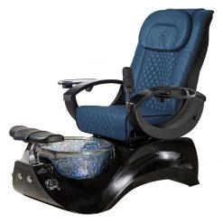 Alden Crystal Spa Pedicure Chair Base Black 2
