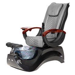 Alden Crystal Spa Pedicure Chair Base Black