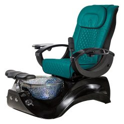 Alden Crystal Spa Pedicure Chair Base Black 4
