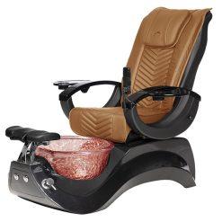 Alden Crystal Spa Pedicure Chair Base Black 5
