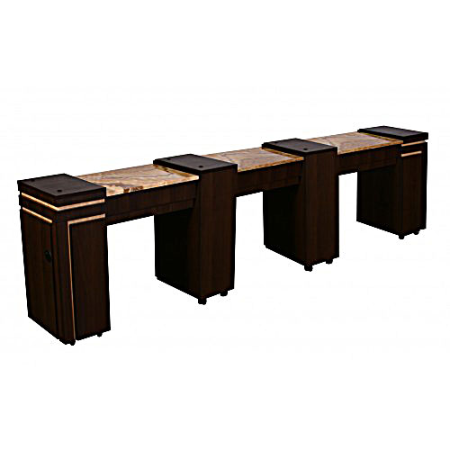 Canterbury Triple Manicure Table