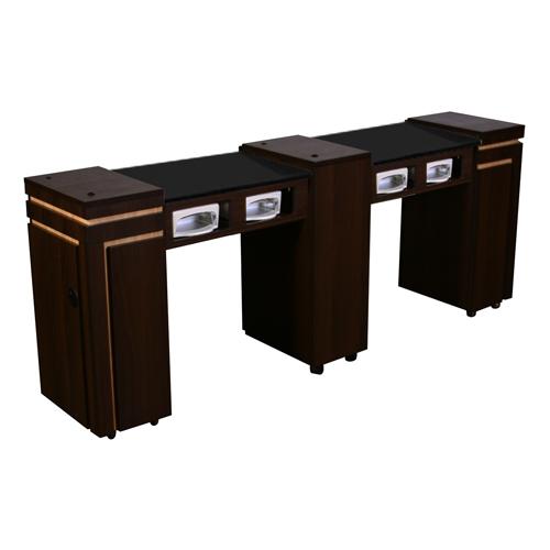 Carina Double Manicure Table
