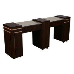 Carina Double Manicure Table - 1a
