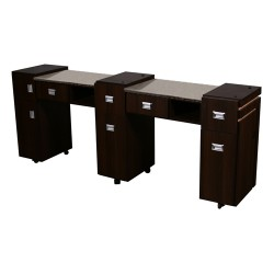 Carina Double Manicure Table - 2