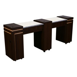 Carina Double Manicure Table - 3a