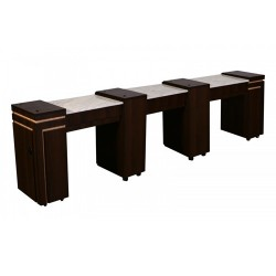 Carina Triple Manicure Table - 2
