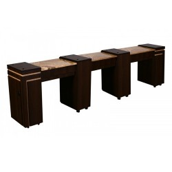Carina Triple Manicure Table