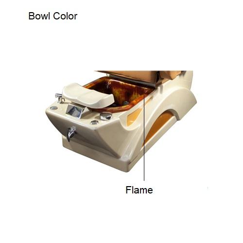 Fiori 2-Tone Lux Spa Pedicure Chair