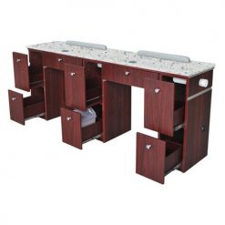 Hilton Double Nail Table With Pipe