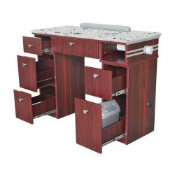 Hilton Nail Table With Pipe - 1