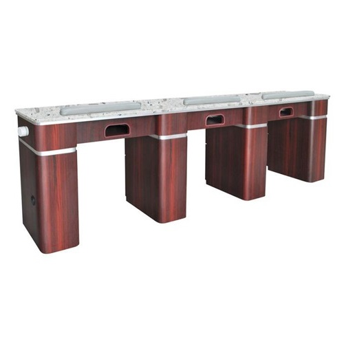 Hilton Triple Nail Table With Pipe