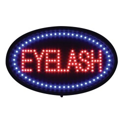 LED Eyelash Sign 13