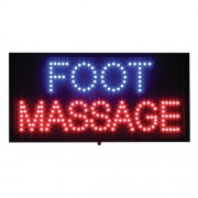 LED Foot Massage Sign 12