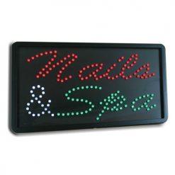 LED Nails & Spa Sign 07