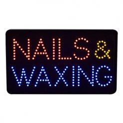 LED Nails & Waxing Sign 10