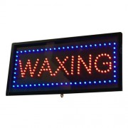 LED Waxing Sign 09