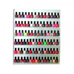 Nail Polish Organizer Display Wall Rack - 1a