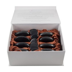 Rose 16pc Stone Massage Set