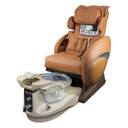 Rose 8000 Spa Pedicure Chair With Crystal Bowl - 5
