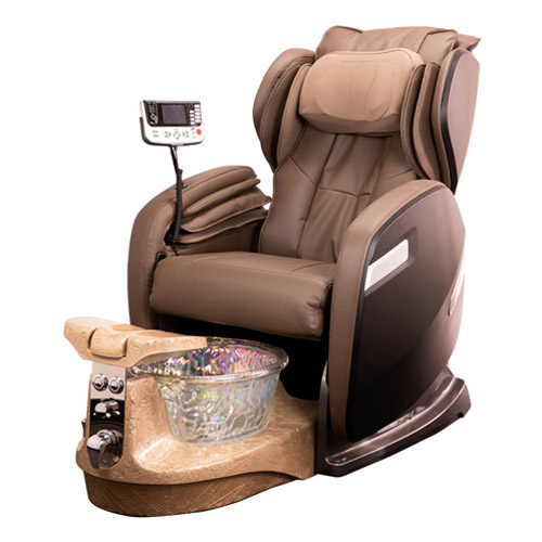 Rose 9000 Spa Pedicure Chair With Crystal Bowl