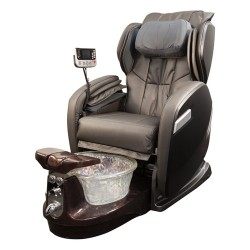 Rose 9000 Spa Pedicure Chair With Crystal Bowl - 4