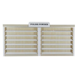 Topas Polish & Powder Rack - 86 - 6a
