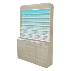 Topas Powder Rack With Powder Cabinet - 48 - 1a