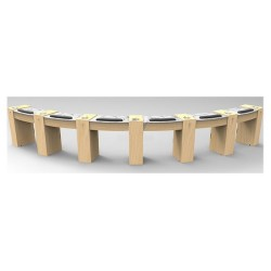 Classic Eclipse Single Nail Table - 2
