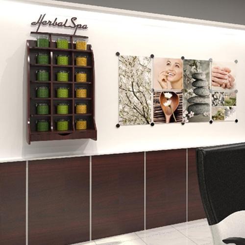 Herbal Deluxe Wall Rack