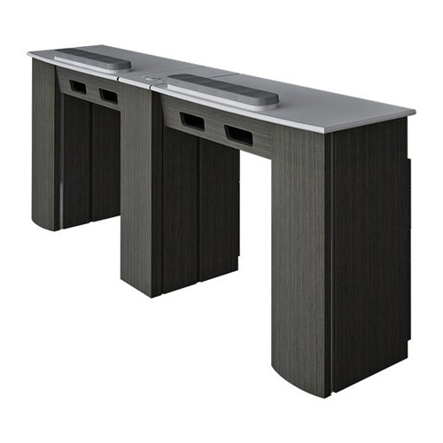 Lux Double Nail Table 74 Inches