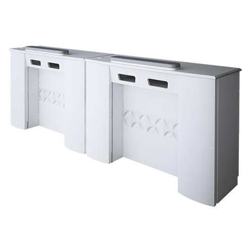 Lux Double Nail Table 86 Inches