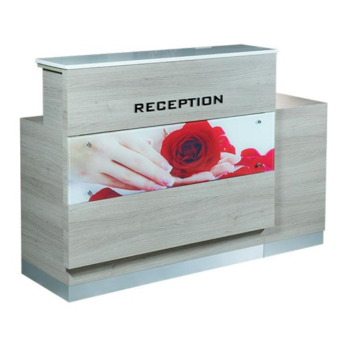 Moon Reception Desk 3 With Led
