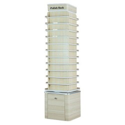 Topas Polish Rack Double Stand - 19