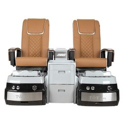 Twin Double Pedicure Spa Chair - 6