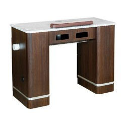 Venus Nail Table With Pipe 41 Inches - 1