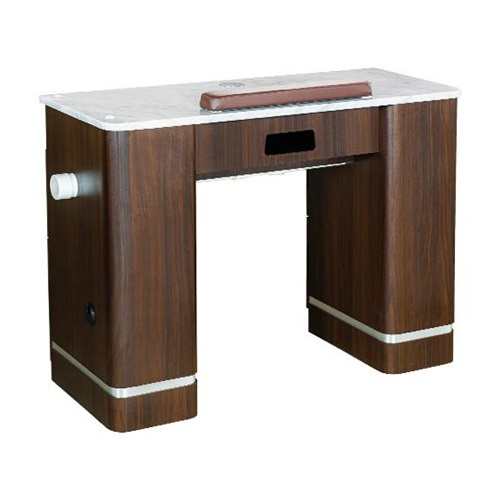 Venus Nail Table With Pipe 41 Inches