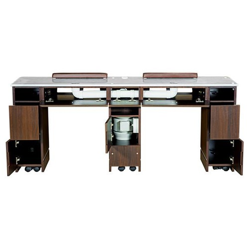 Venus Vented Double Nail Table 73 Inches