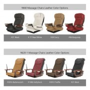 Chi Spa 2 Double Pedicure Spa Chair - 08