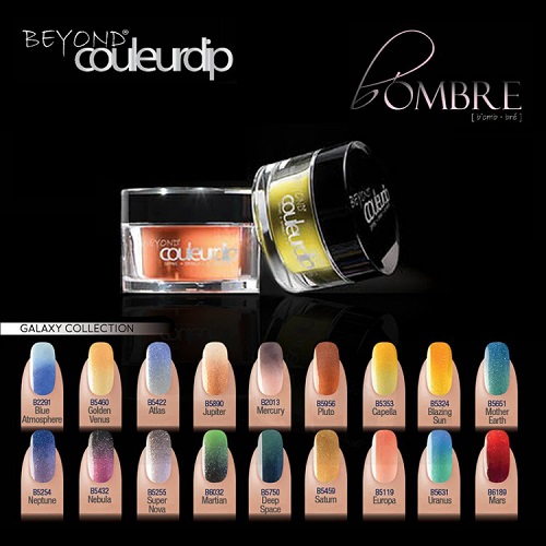 Beyond Couleurdip B'ombre Galaxy Collection (18 sets)
