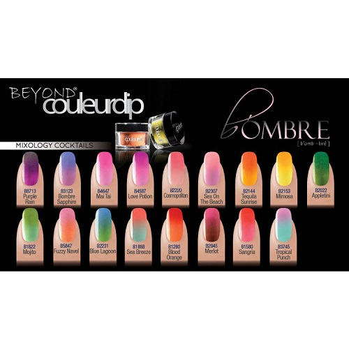 Beyond Couleurdip-B'ombre Mixology Cocktails Collection