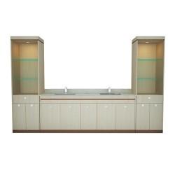 Double Sink wCabinet 100''