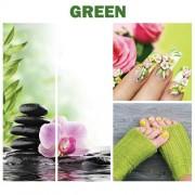 Green Canvas Murals