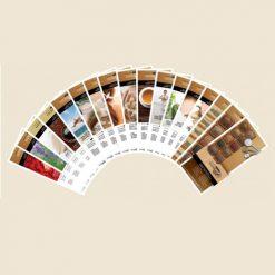 Herbal Spa Master Menu Cards Kit