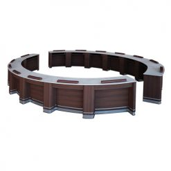 Oval Low Bar Table